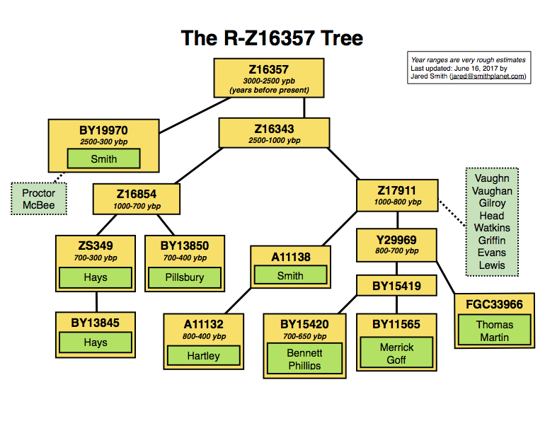 Z16357 Tree - Click to view SNP page